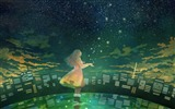 Title:Second element of the Fireflies Summer Cartoon Wallpaper 11 Views:3125