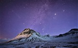 Title:iceland mountains snow night-Nature Landscape HD wallpaper Views:3350