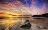 Title:calm summer sunset-landscape HD Wallpaper Views:3717