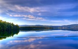 Title:clouds reservoir trees sky-landscape HD wallpaper Views:2508