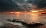 Title:cloudy sunset-landscape HD Wallpaper Views:3109