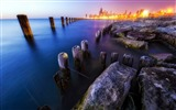 Title:logs stakes city fires stones-Beautiful Nature HD Wallpaper Views:3013