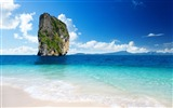Title:rock in paradise-landscape HD Wallpaper Views:3666