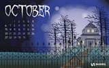 Title:Misty Woods-October 2013 Calendar Wallpaper Views:2662