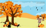 Title:October Fun-October 2013 Calendar Wallpaper Views:2809