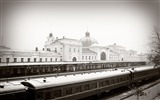 Title:city railroad train station winter-City Travel HD Wallpaper Views:2758