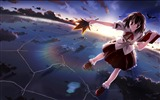 Title:girl smile flying-Anime HD Wallpaper Views:2712