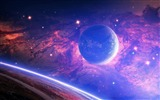 Title:planet light spots-Universe HD Wallpaper Views:2811