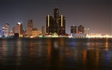 Title:detroit skyscrapers night river-cities HD Wallpaper Views:2603