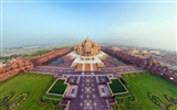Title:india akshardham temple-cities HD Wallpaper Views:2963