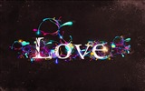 Title:love lettering designs glow-Romantic HD Wallpaper Views:4940