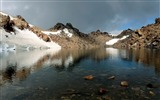 Title:mountains lake emptiness water-Nature HD Wallpaper Views:2785