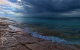Title:plates coast sea cloudy darkness-Nature HD Wallpaper Views:2782