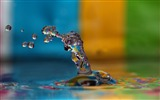 Title:Colorful water splash-Abstract HD Wallpaper Views:3263
