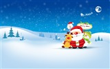 Title:Merry Christmas Holiday Theme HD Desktop Wallpaper Views:11150
