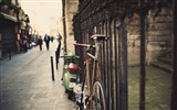 Title:bicycle fence street city-HIGH Quality Wallpaper Views:2299