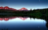 Title:evening on the lake-Landscape HD Wallpaper Views:2515