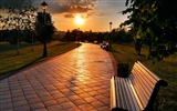 Title:russia park evening-Cities HD Wallpaper Views:2689
