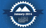 Title:A Cold January-January 2014 calendar wallpaper Views:2686