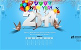 Title:Happy New Year Cheers-January 2014 calendar wallpaper Views:3565