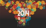 Title:Have A Smashing New Year 2014-January 2014 calendar wallpaper Views:3633