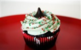 Title:christmas cupcake Sweet-Holiday theme HD Wallpapers Views:3504