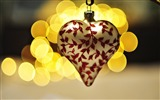 Title:heart christmas decoration bokeh lights-Holidays wallpaper Views:2058