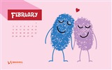 Title:February 2014 calendar desktop themes wallpaper Views:13137