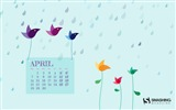 Title:April 2014 calendar desktop themes wallpaper Views:10970