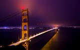 Title:The night sky bridge-Nature HD Wallpaper Views:4232