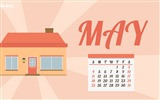 Title:Get Out Of Your House-May 2014 calendar wallpaper Views:2543