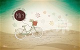 Title:May Your Dreams Come True-May 2014 calendar wallpaper Views:2690