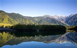 Title:Mountain reflection of the blue sky-Landscape HD Wallpaper Views:2388