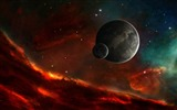 Title:fire in space-Design HD Wallpaper Views:2903