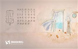 Title:The Adventure Is Calling-July 2014 calendar hd wallpaper Views:2632