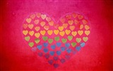 Title:hearts many drawing-widescreen Wallpaper Views:2336