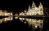 Title:Ghent Belgium night-Windows 8 Theme Wallpaper Views:2615