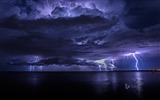 Title:Marine clouds lightning-Bing theme wallpaper Views:2614