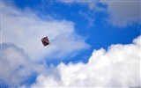 Title:Kite on the blue sky-Windows Theme Wallpaper Views:2361