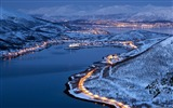 Title:Light Norwegian city of Tromso-Windows Theme Wallpaper Views:2890
