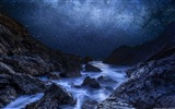Title:Blue starry night-Windows Theme Wallpaper Views:2924