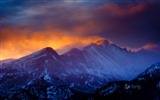 Title:Twilight Snow-Bing theme wallpaper Views:2542