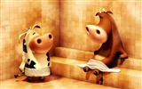 Title:3D Funny Cows-High quality HD Wallpaper Views:2241