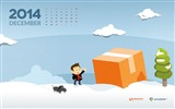 Title:Christmas Package-December 2014 Calendar Wallpaper Views:2583
