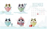 Title:December Owls-December 2014 Calendar Wallpaper Views:2742
