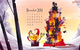 Title:Gifts Lover-December 2014 Calendar Wallpaper Views:2880