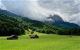 Title:Mountain Valley Scenery-Photos HD Wallpaper Views:1966