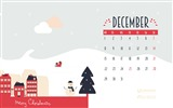 Title:Sleigh Gifts Town-December 2014 Calendar Wallpaper Views:2616