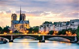Title:beautiful sunset in paris-Cities HD Wallpaper Views:3039