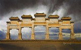 Title:Eastern classical arch-Bing theme wallpaper Views:2308